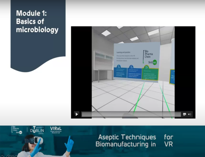 BioPharmaChem Skillnet launches new programme in Virtual Reality